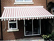 Awnings provide you with shade and cool on your patio